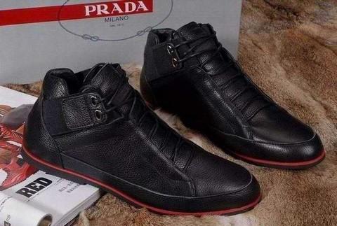 chaussure prada cuir chaussures prada femme hiver 2013 prada pas cher basket. Black Bedroom Furniture Sets. Home Design Ideas