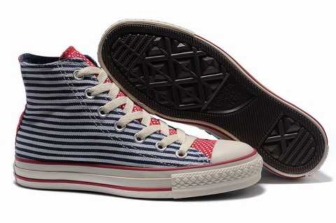 chaussure converse all star cuir bungee hi marron,chaussure