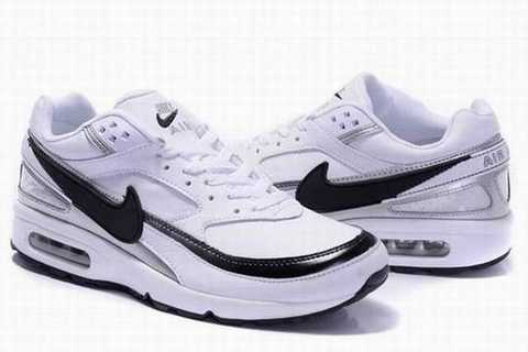 chaussures sport air max classic bw textile de nike homme